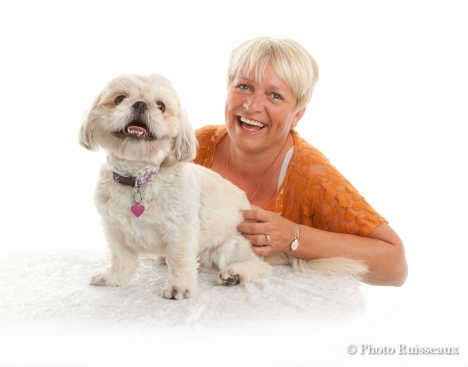 Dog photography at Photo Ruisseaux photography studio Horwich Bolton