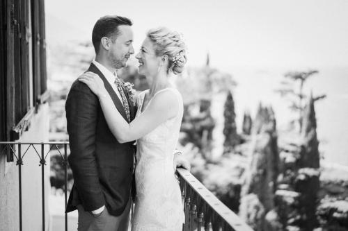 Lake Garda wedding portrait