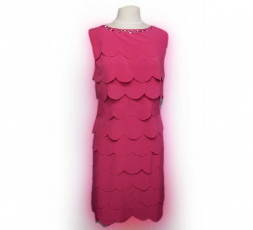Cerise Ladies Wedding Guest Outfit