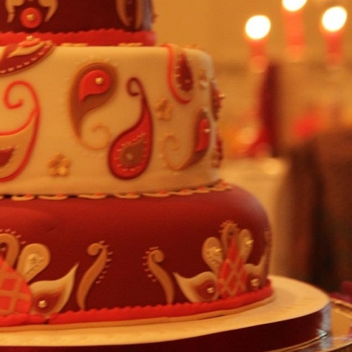 Tiered Indian Wedding Cake