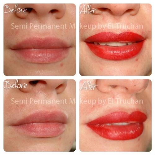 Full Lips Permanent Makeup By El Truchan