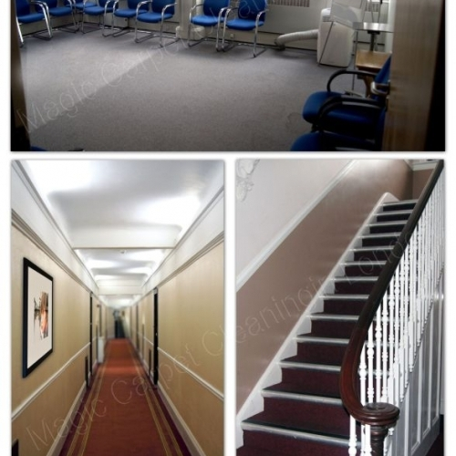 We clean carpets in offices and in London homes, in ALL London areas.