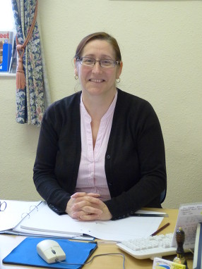 Our friendly receptionist Debi