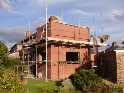 two storey extension builders