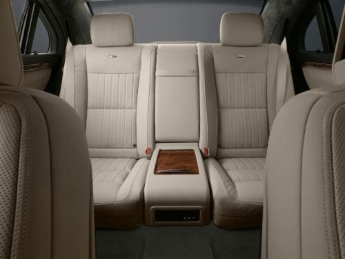 Mercedes Benz S Class Rear Seats