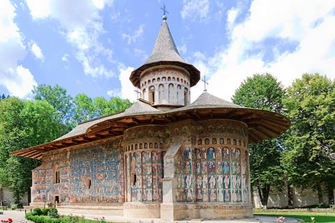 Romania - ancient painted monastery