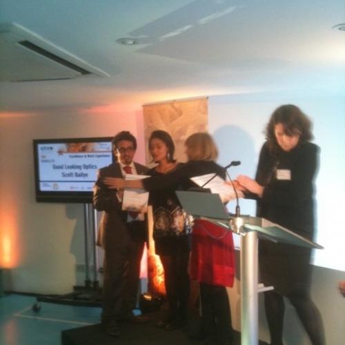 Winner of  best work experince 2011