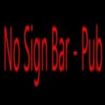 No Sign Bar
