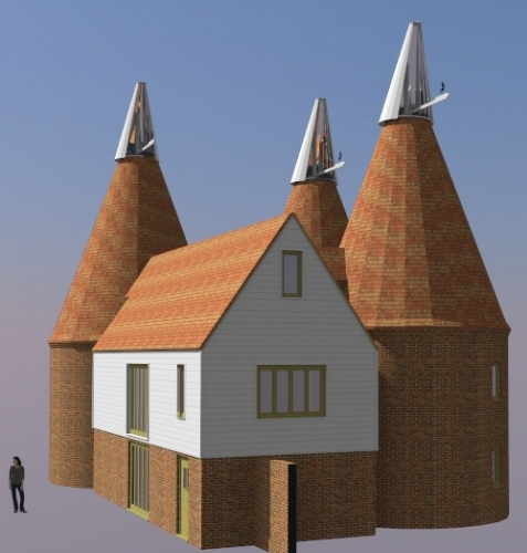 Oast House Conversion and Reinstatement, Paddock Wood