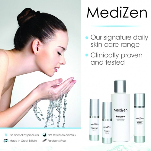 MediZen's clinically proven signature skincare range