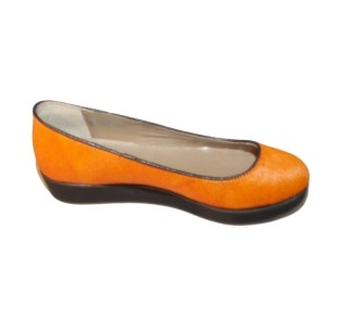 Second Tread Footwear Orange Lowedge Fancy Shoe