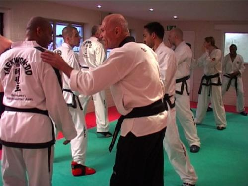 Black Belt session with The Legendary Bill 'Superfoot' Wallace