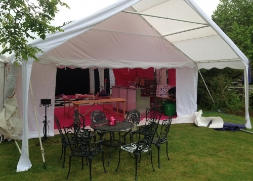 6m x 12m With an Awning  Marquee Hire Peterborough