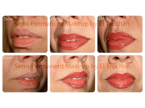 Semi Permanent Make Up - Full Lip Colour by El Truchan @ Perfect Definition