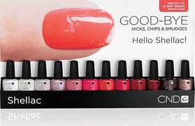Shellac Manciures and Pedicures
