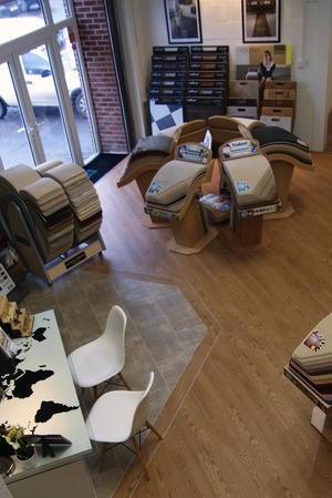 Wye Flooring showroom