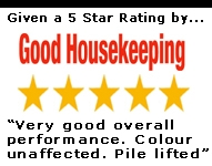 5 Star rating by Good Housekeeping