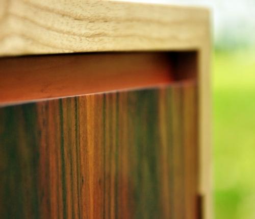 Handle-less Rosewood Door