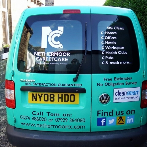 We dont just clean domestic carpets.