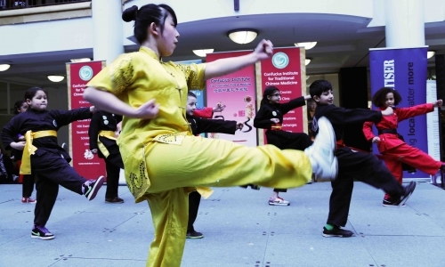 Kung Fu Demonstration by Students of Kung Fu Schools Croydon