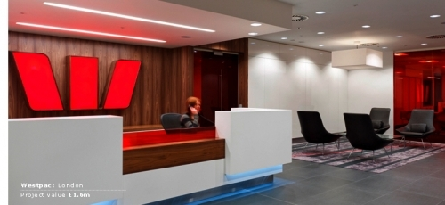 Westpac Bank builders clean