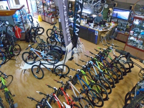 Bigpeaks Bike Shop and watersports store