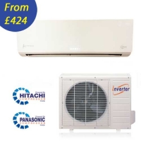 Easy Fit Inverter Heat Pump / Air Conditioning