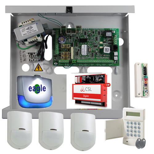 Honeywell Galaxy G2 Monitored Alarm with Dualcom DigiAir