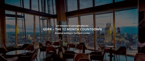 GDPR – THE 12 MONTH COUNTDOWN