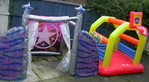 Mini Bouncy Castle Stage