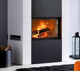 Contura Ci20D Inset Woodburner - 10Kw - ON DISPLAY LIVE