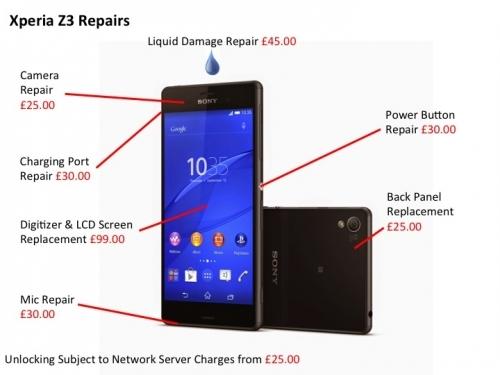 Mobile Phone Repair: Sony Mobile Phone Repair Centre