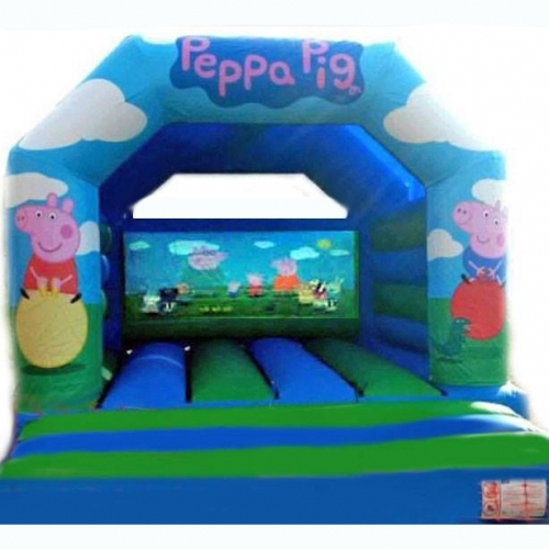 Peppa Pig bouncy castle from Kingdom of Bounce