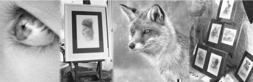 Beautiful pencil portraits of people, pets and animals