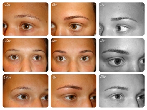 Semi Permanent Make Up - Hairstroke Eyebrows by El Truchan @ Perfect Definition