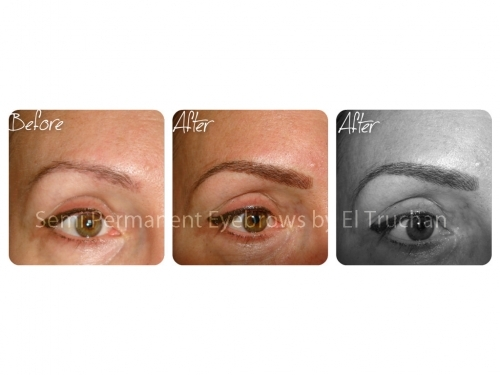 3D Semi Hairstroke Semi Permanent Eyebrows By El Truchan CPCP @ Perfect Definition