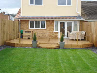 Beautiful Garden Ideas With Decking And Decor