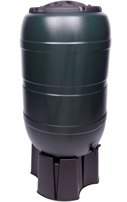 Water Butt 210ltr - With Stand, Lid, Tap and Diverter - ONLY £125.00 FITTED