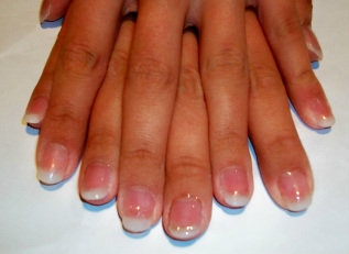 Natural Tip Acrylics