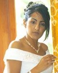 Sophisticated Bridal Styling With Professional Makeup Application 1