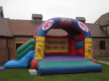 Party Bounce and Slide Bouncy Castle