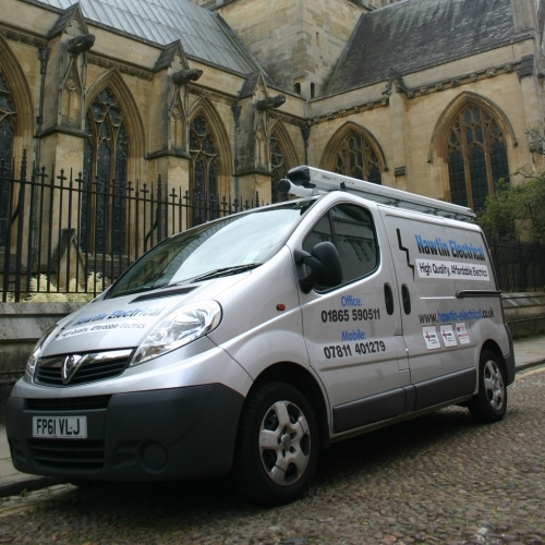 Hawtin Electrical Official Vehicle At Work