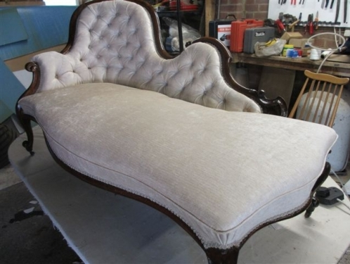 Chaise longue - The finished job