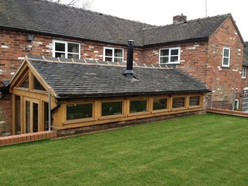 oak framed extensions, oak framed structures, oak framed orangery