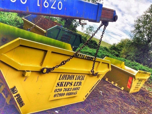 Skip Hire in Enfield