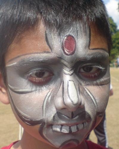 metal man mask