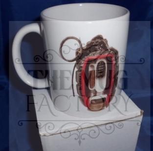 Mills grenade personalised mugs