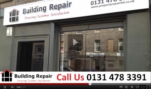 Building Repair Company Video Image 2012