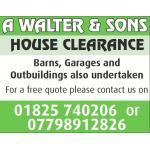 A.Walter & Sons House Clearance