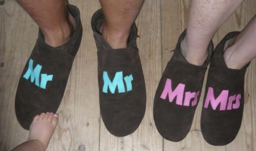 Triggerfish adult slippers / indoor shoes - Mr And Mrs styles